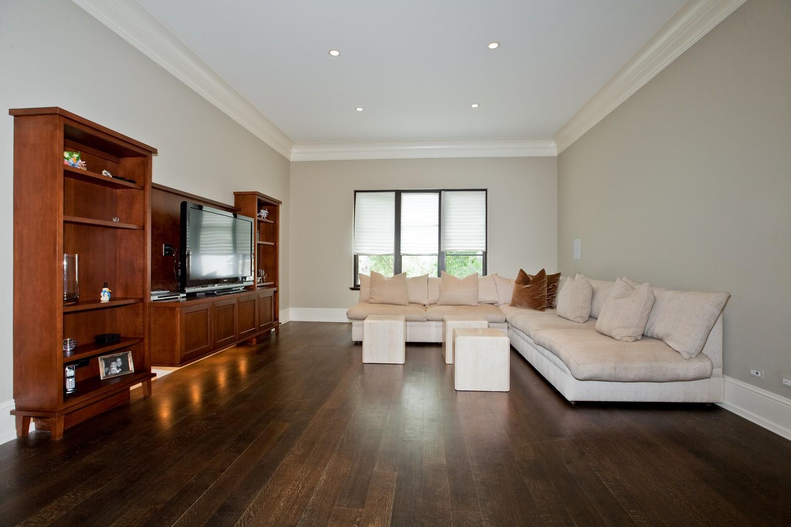 Real Estate Photography - 6143 Madison, Burr Ridge, IL, 60527 - Family Room