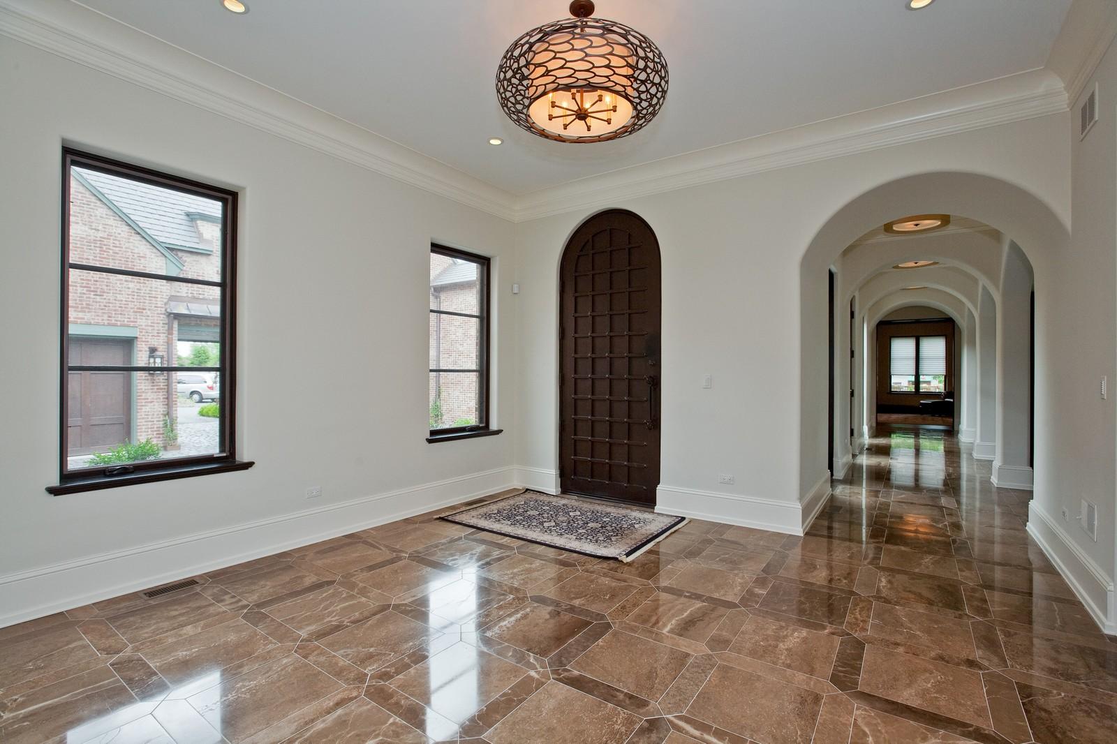 Real Estate Photography - 6143 Madison, Burr Ridge, IL, 60527 - Foyer