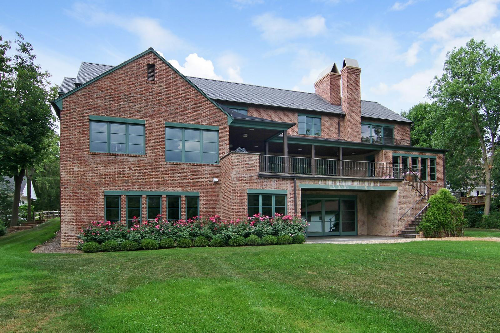 Real Estate Photography - 6143 Madison, Burr Ridge, IL, 60527 - Rear View