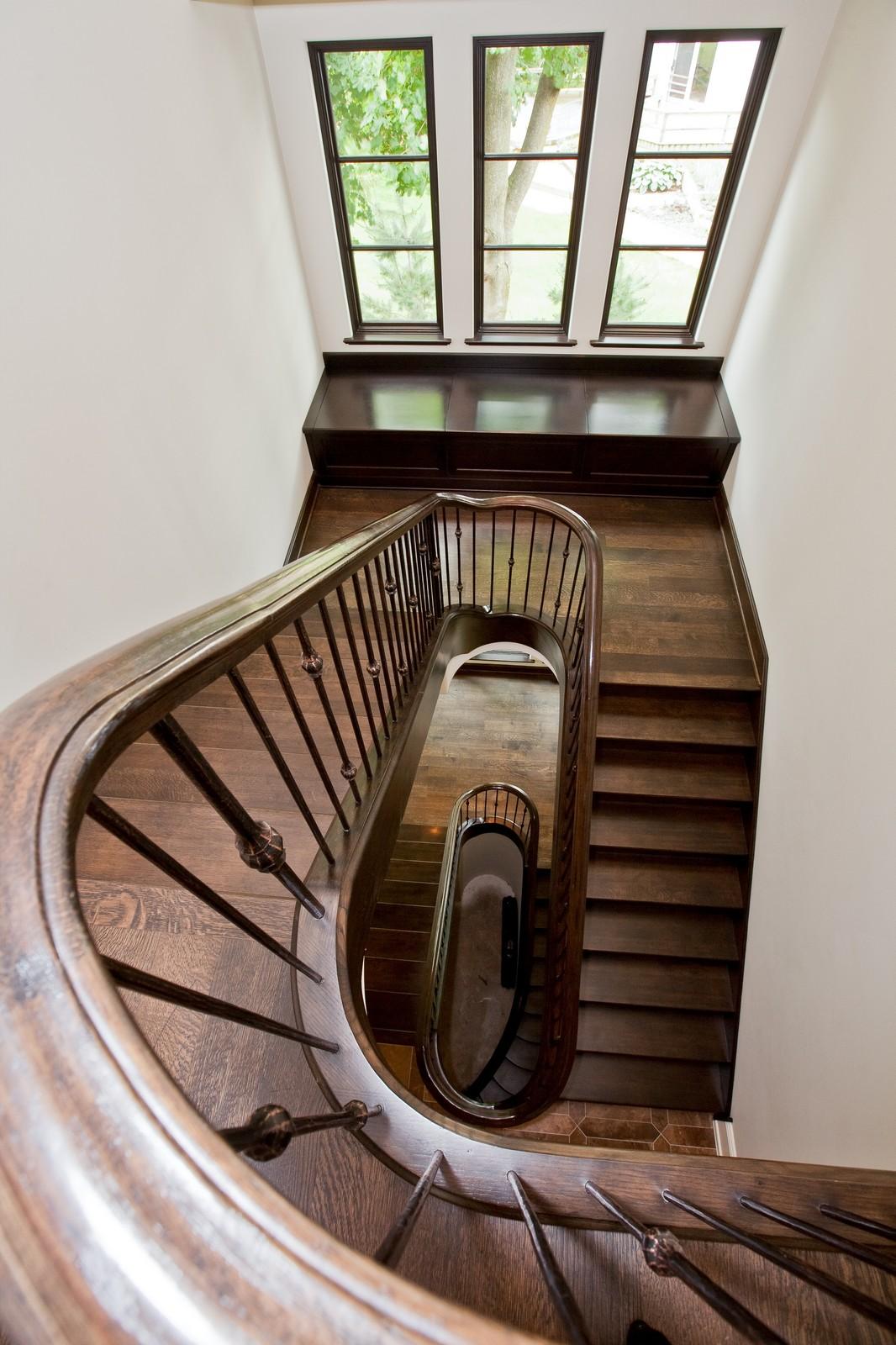 Real Estate Photography - 6143 Madison, Burr Ridge, IL, 60527 - Staircase