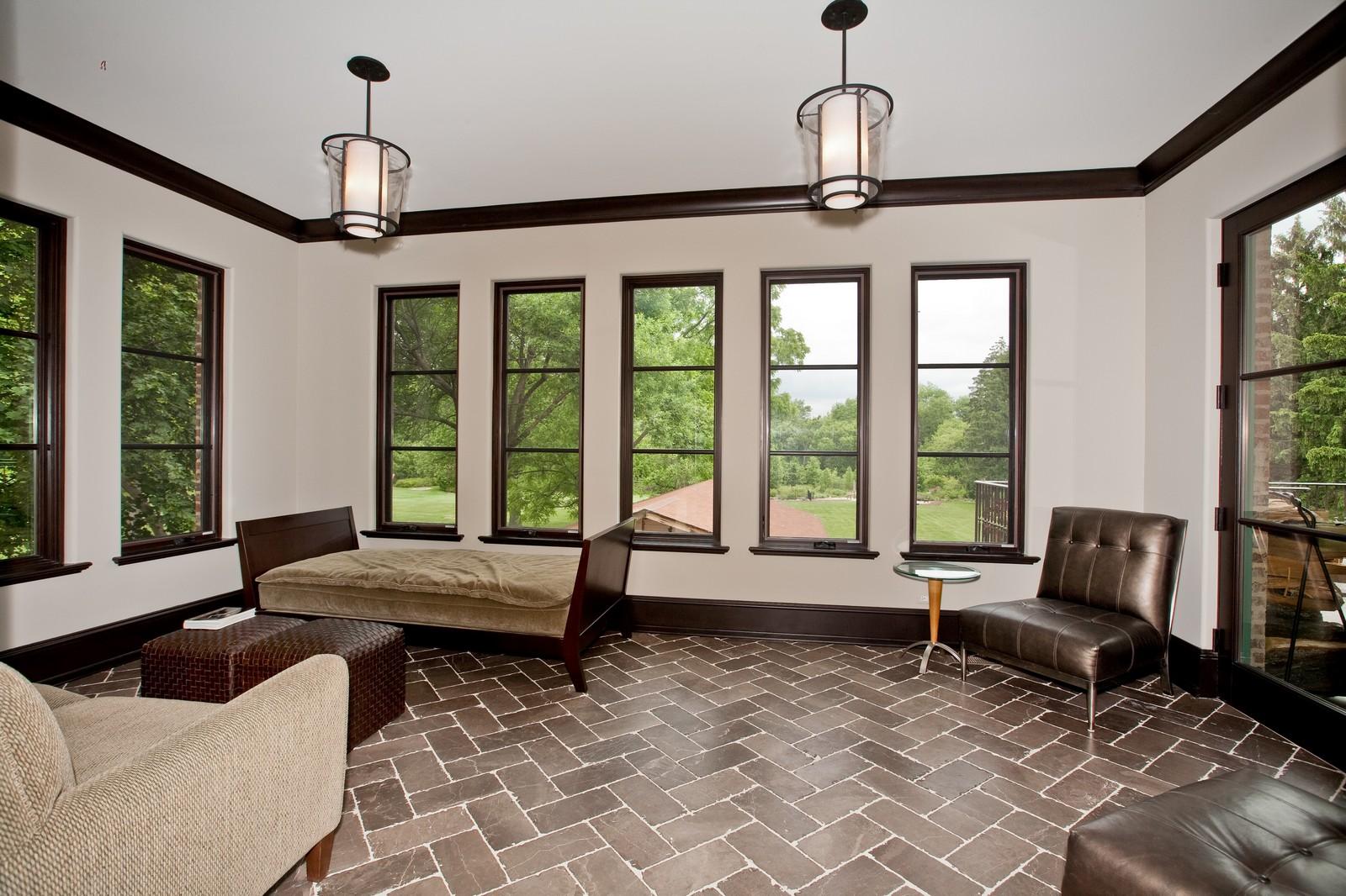 Real Estate Photography - 6143 Madison, Burr Ridge, IL, 60527 - Sun Room