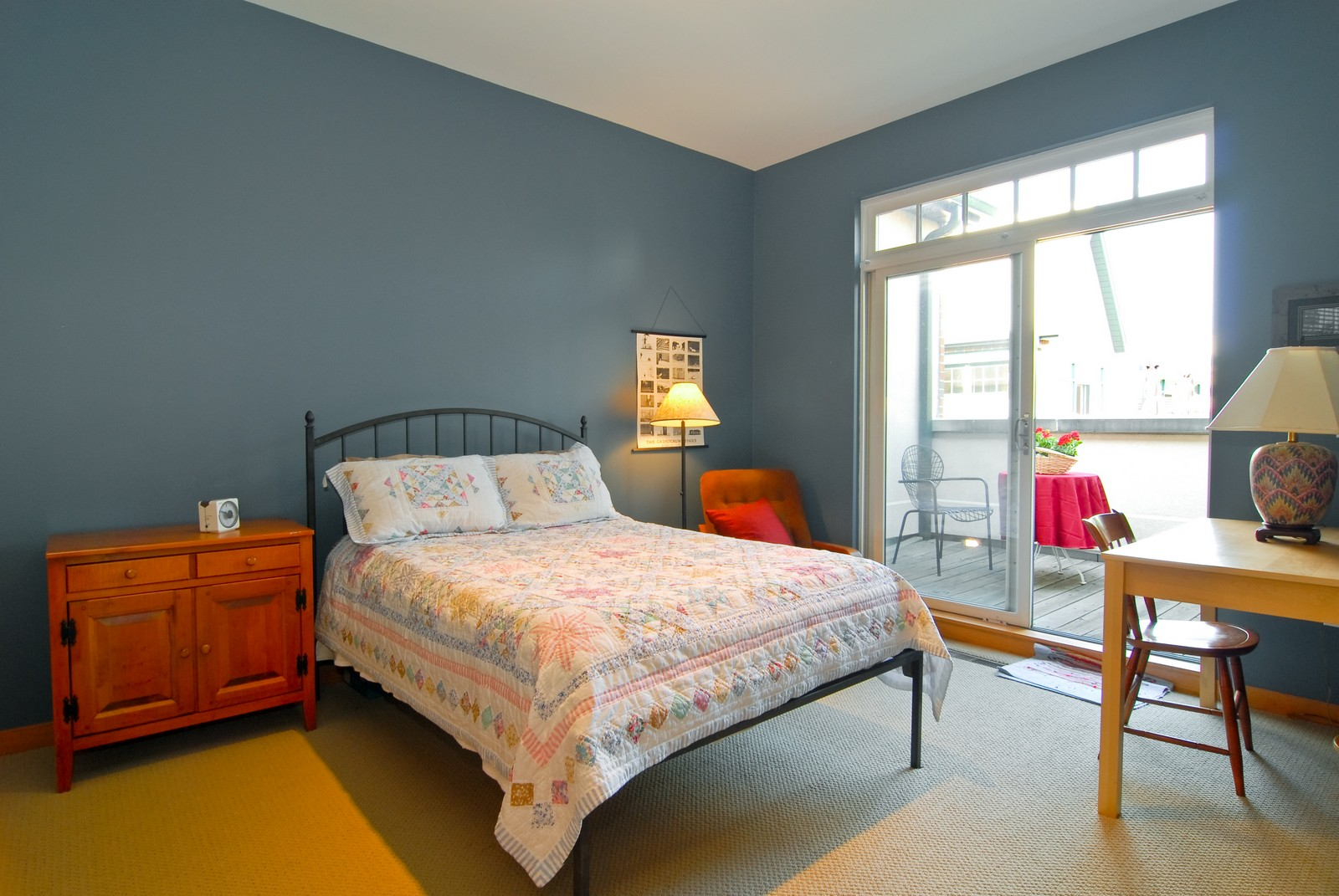 Real Estate Photography - 101 N Euclid, Unit 21, Oak Park, IL, 60302 - 2nd Bedroom