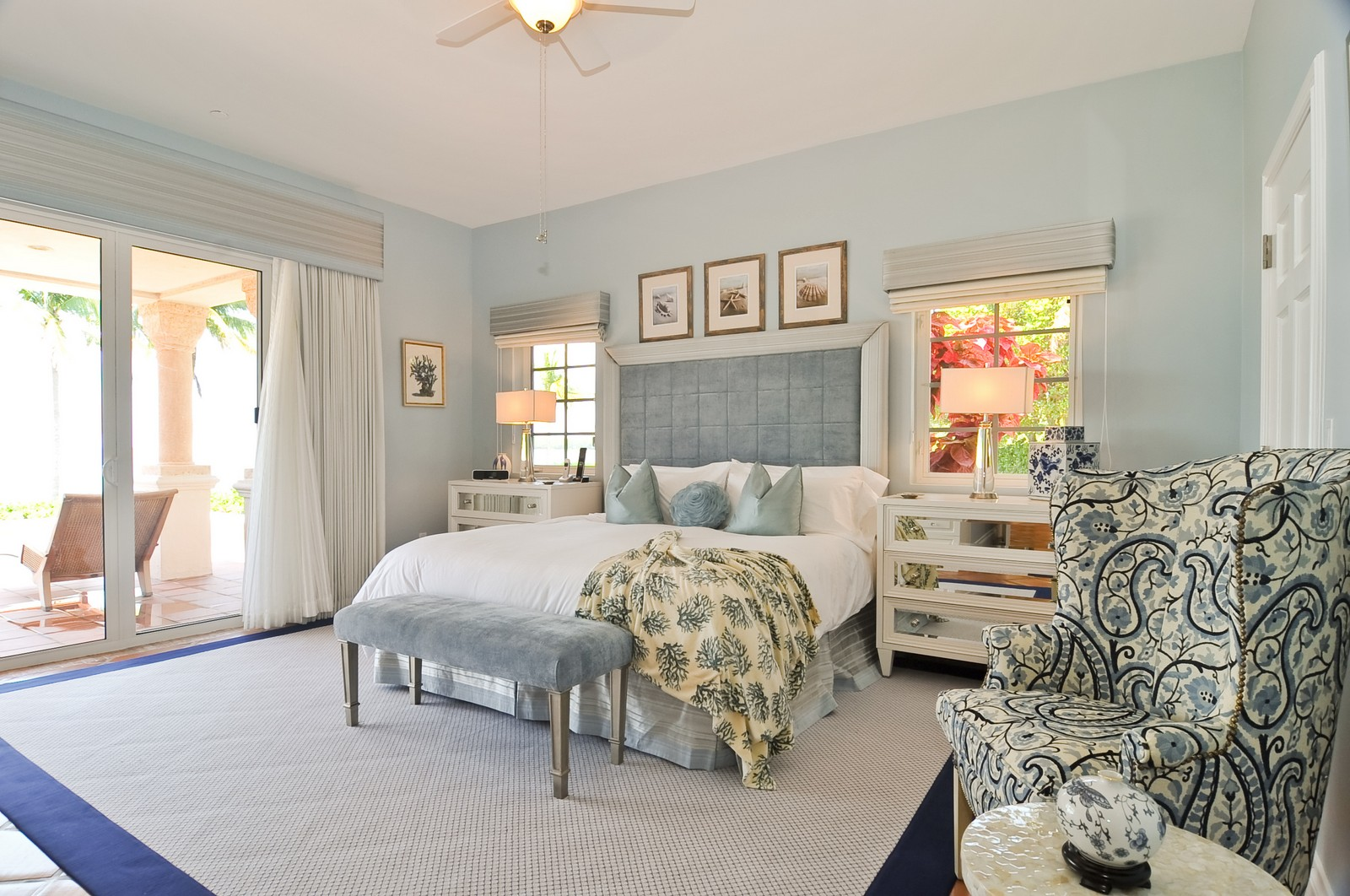 Real Estate Photography - 15312 Fisher Island Dr, Fisher Island, FL, 33109 - Master Bedroom