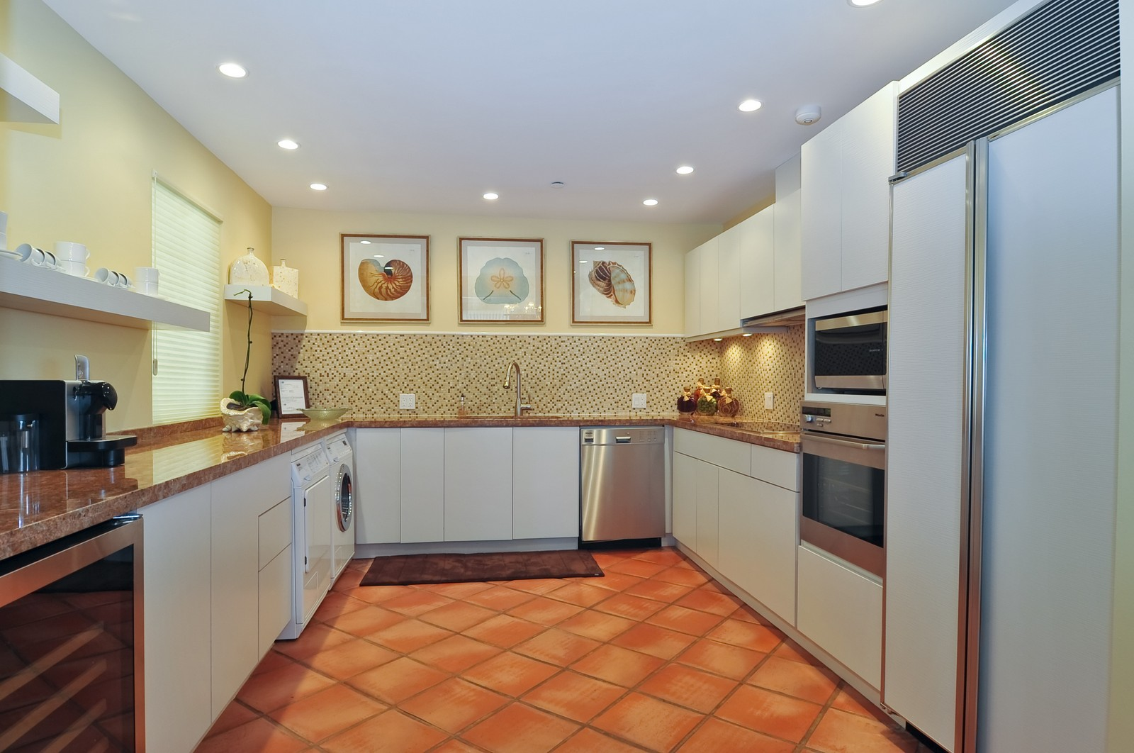 Real Estate Photography - 15312 Fisher Island Dr, Fisher Island, FL, 33109 - Kitchen