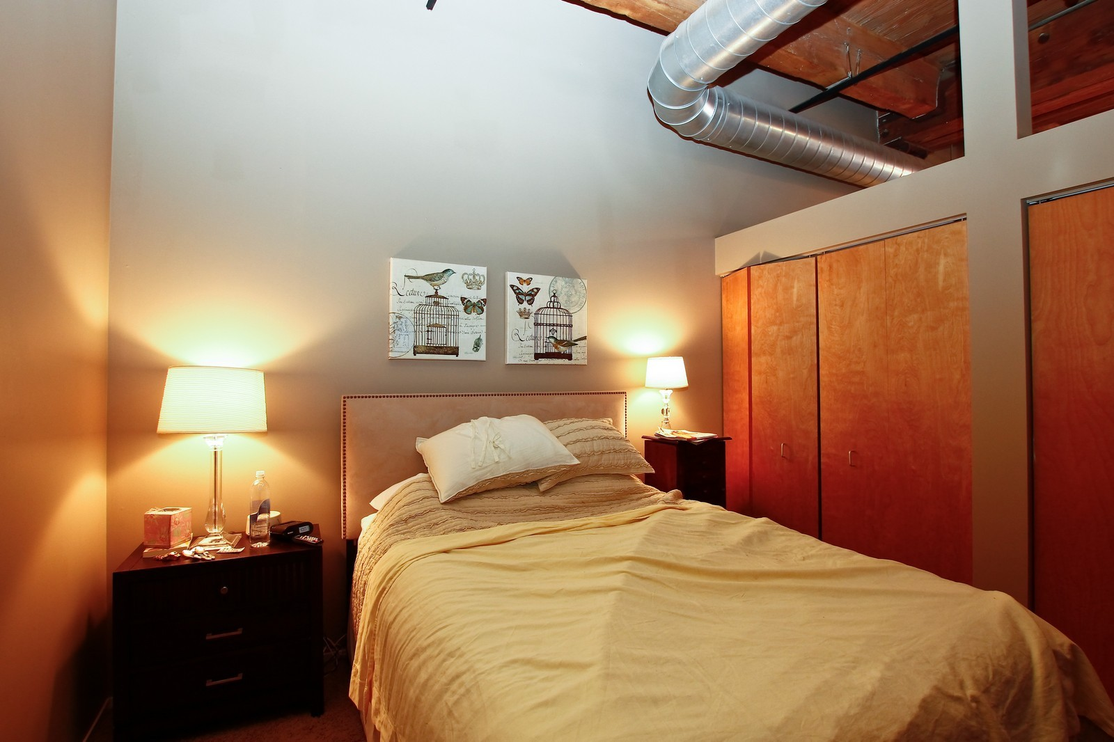 Real Estate Photography - 1500 W Monroe, 616, Chicago, IL, 60607 - Bedroom