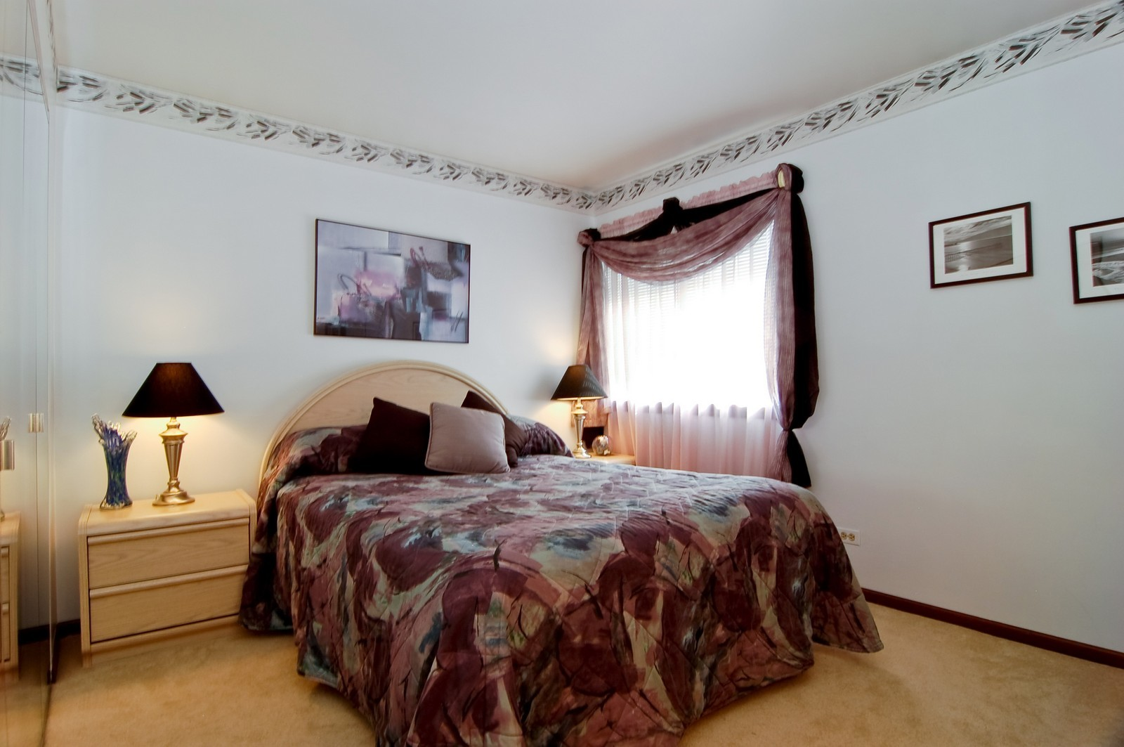 Real Estate Photography - 1013 Bedford, Carol Stream, IL, 60188 - Bedroom