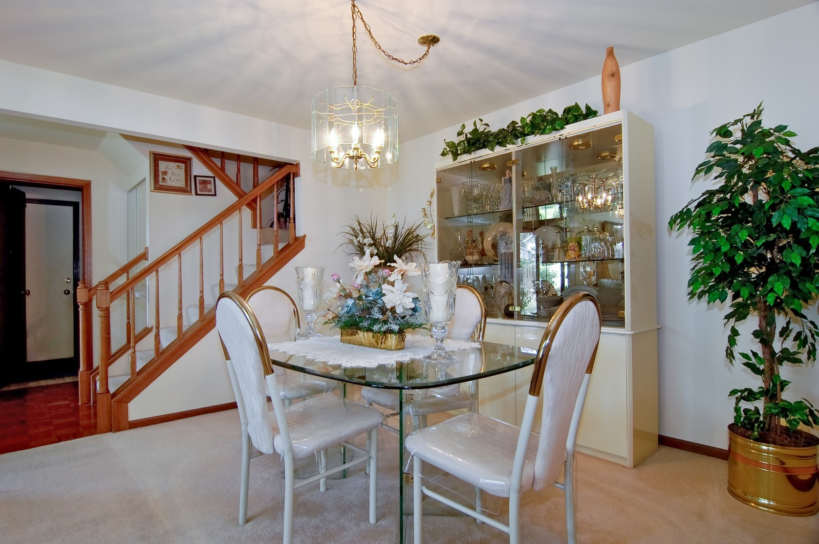 Real Estate Photography - 1013 Bedford, Carol Stream, IL, 60188 - Dining Room