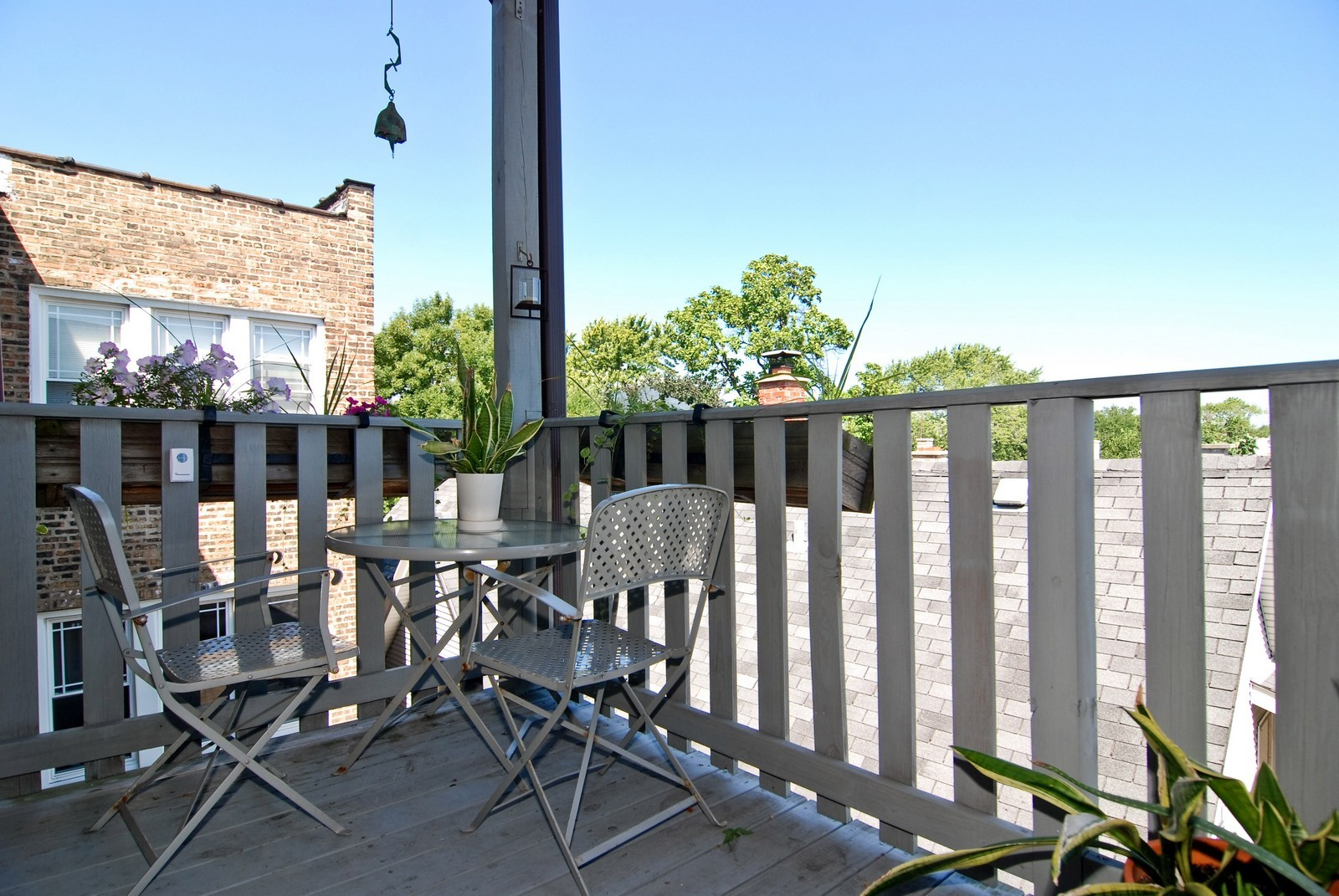 Real Estate Photography - 2658 W. Altgeld #3, Chicago, IL, 60647 - Deck