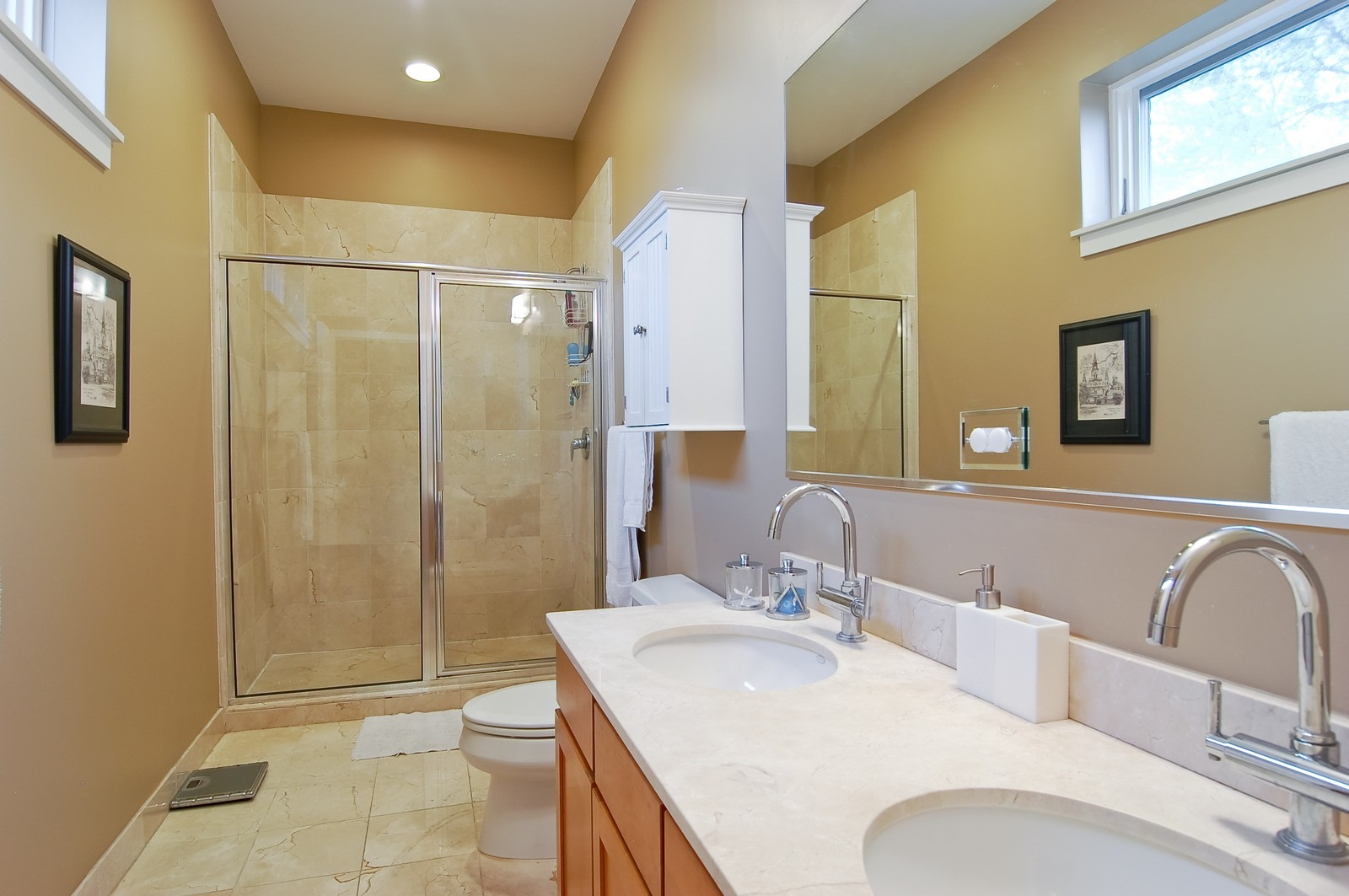 Real Estate Photography - 3741 N. Wolcott, Unit 13, Chicago, IL, 60613 - Master Bathroom