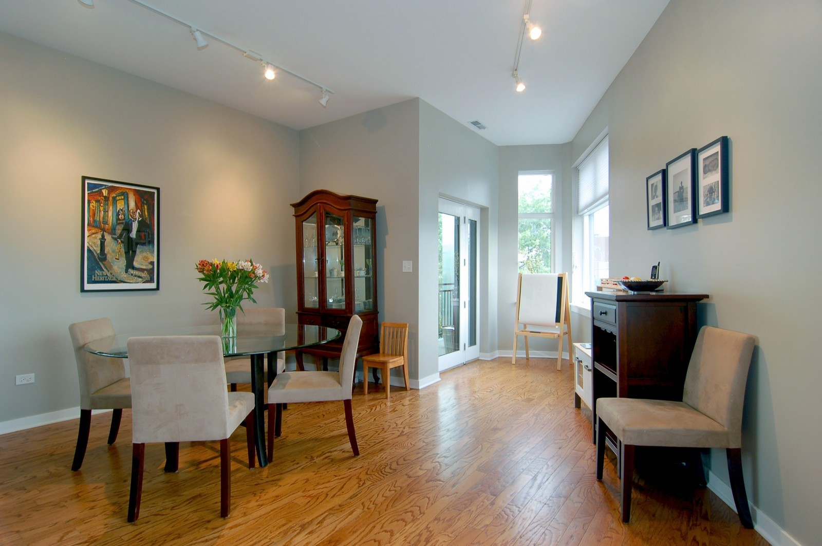 Real Estate Photography - 3741 N. Wolcott, Unit 13, Chicago, IL, 60613 - Dining Room
