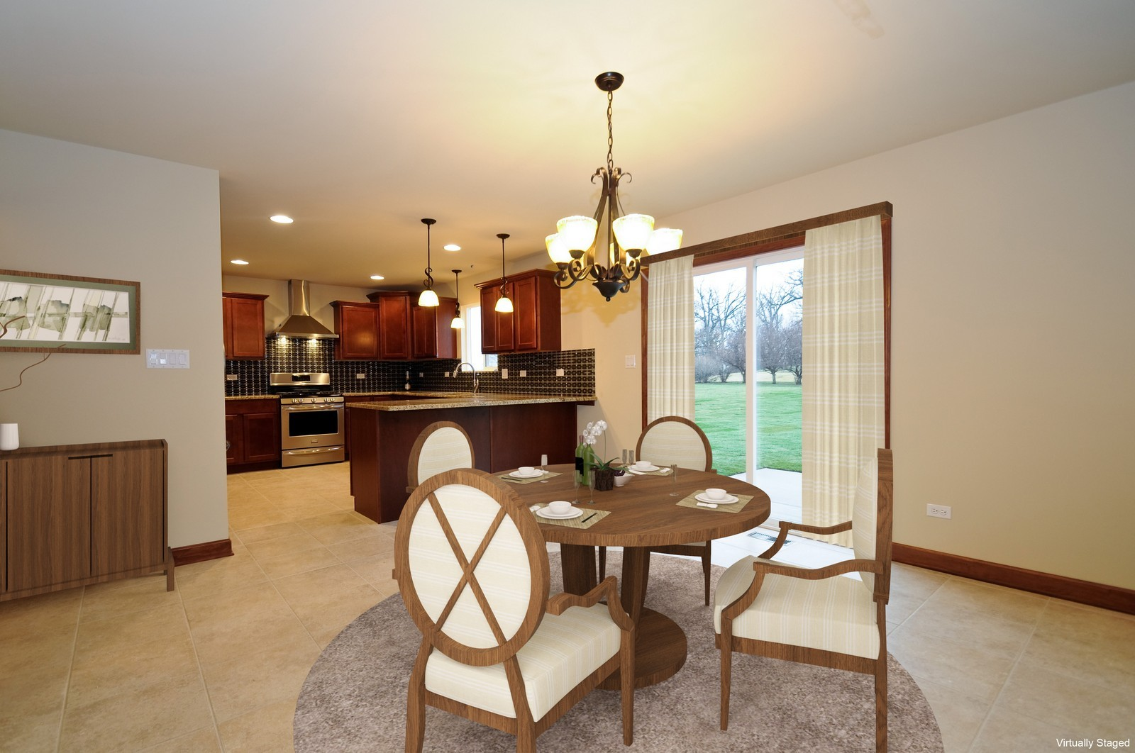 Real Estate Photography - Virtual Staging Before/After (VzS), Rosemont, IL, 60018 -