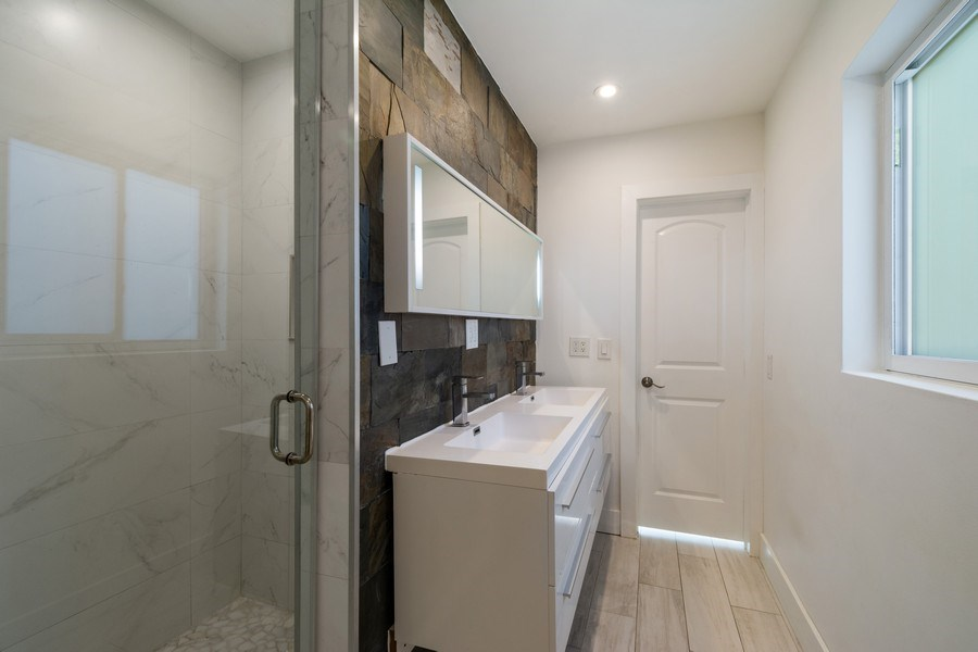 Real Estate Photography - 3431 NE 18 Avenue, Oakland Park, FL, 33306 - Master Bathroom