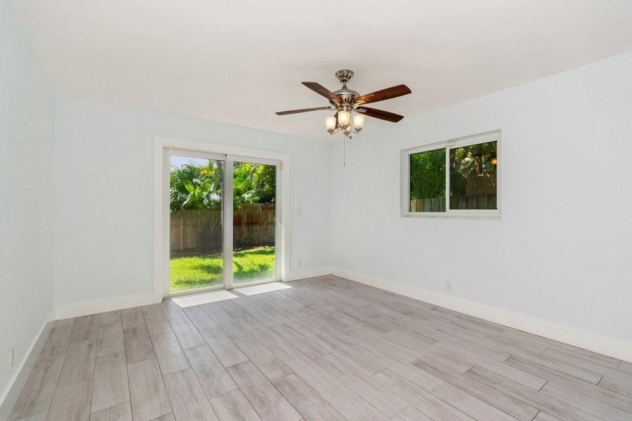 Real Estate Photography - 3431 NE 18 Avenue, Oakland Park, FL, 33306 - Master Bedroom