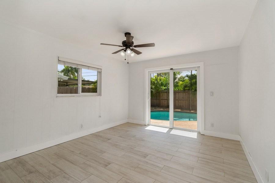 Real Estate Photography - 3431 NE 18 Avenue, Oakland Park, FL, 33306 - Bedroom