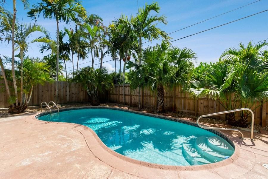 Real Estate Photography - 3431 NE 18 Avenue, Oakland Park, FL, 33306 - Pool
