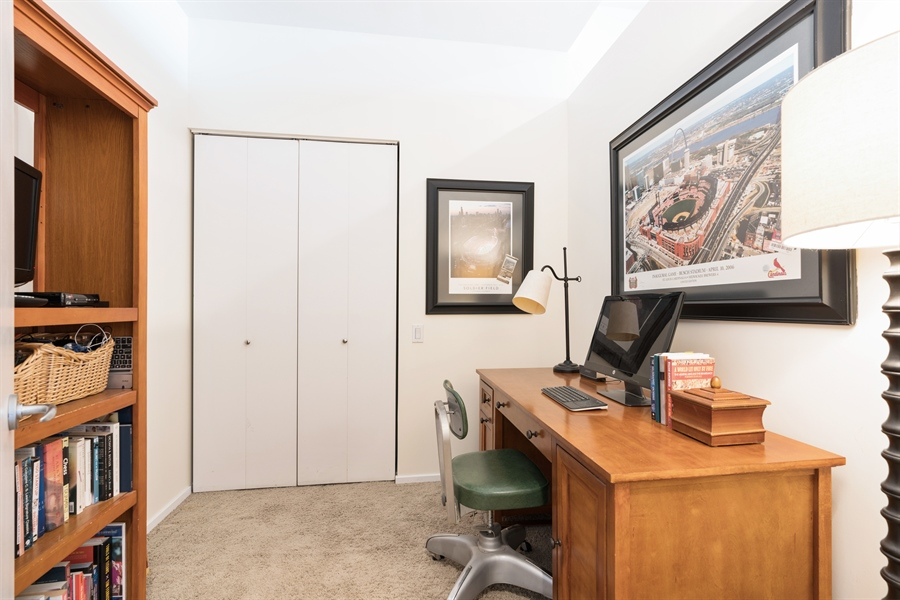 Real Estate Photography - 500 W Superior, 804, Chicago, IL, 60654 - 2nd Bedroom