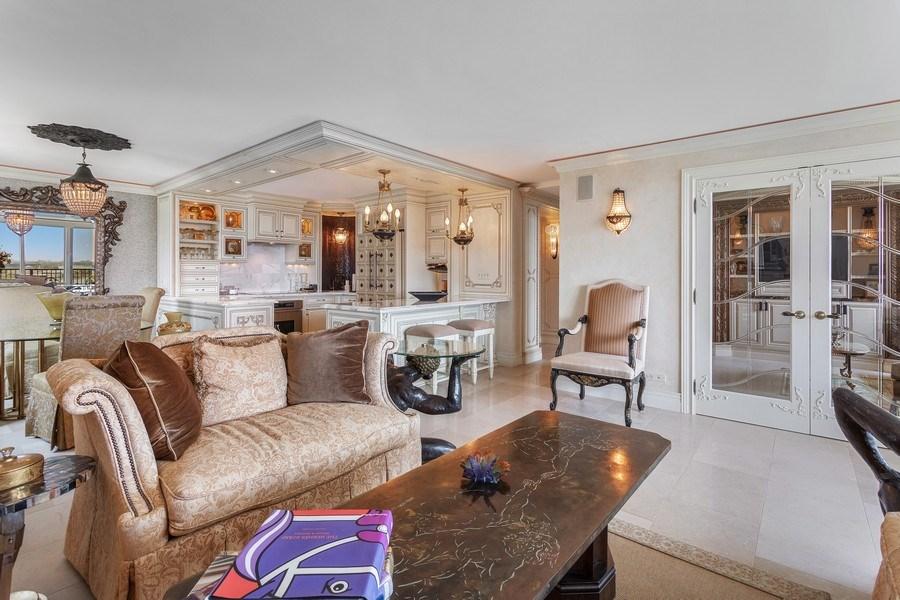 Real Estate Photography - 400 E Randolph #2119, Chicago, IL, 60601 - Living Room