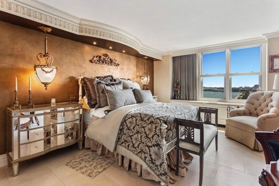 Real Estate Photography - 400 E Randolph #2119, Chicago, IL, 60601 - Bedroom