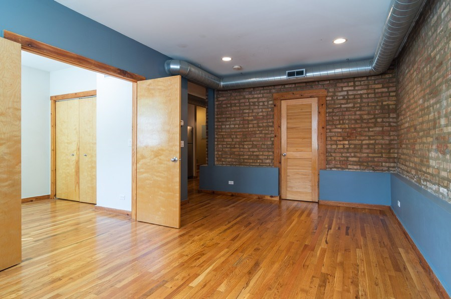 Real Estate Photography - 4104 N Mozart, GE, Chicago, IL, 60618 - Living Room