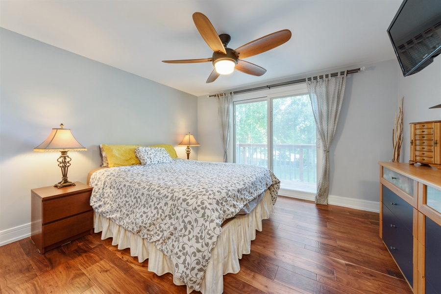 Real Estate Photography - 1001 Heartwood Ln, Lake Zurich, IL, 60047 - Master Bedroom