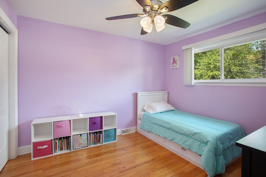 Real Estate Photography - 133 S Evergreen Ave, Addison, IL, 60101 - 2nd Bedroom