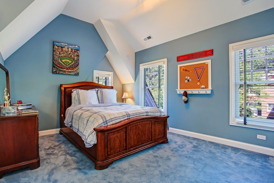 Real Estate Photography - 123 Main, Floor Plan Sample, Chicago, IL, 60018 - 2nd Bedroom