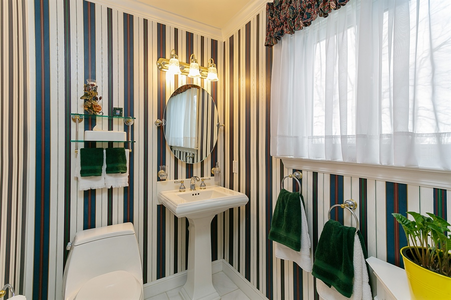 Real Estate Photography - 11 Hertiage Hill Rd, Norwalk, CT, 06851 - Powder Room