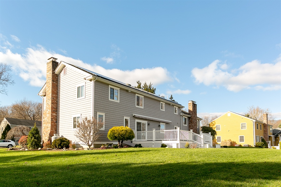 Real Estate Photography - 11 Hertiage Hill Rd, Norwalk, CT, 06851 - Rear View