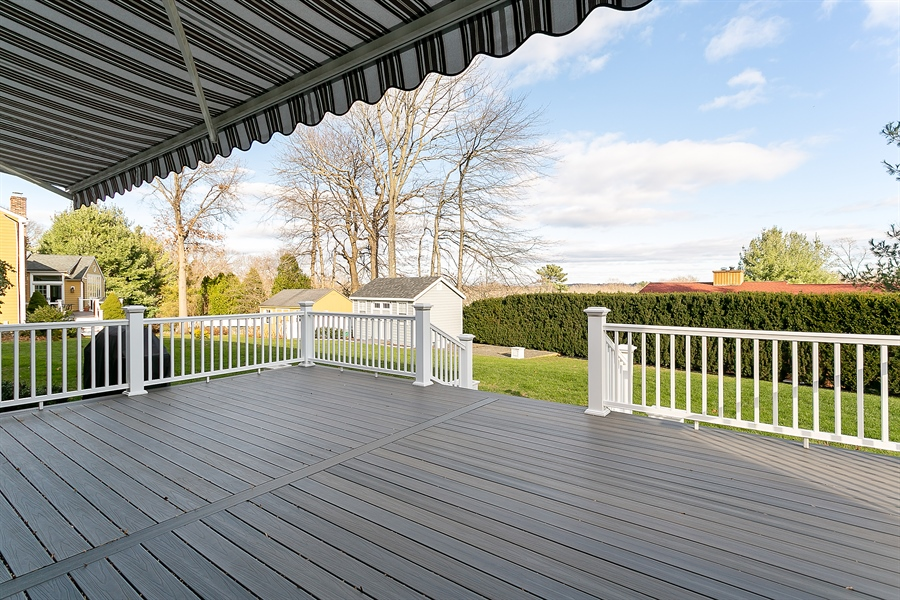 Real Estate Photography - 11 Hertiage Hill Rd, Norwalk, CT, 06851 - Deck