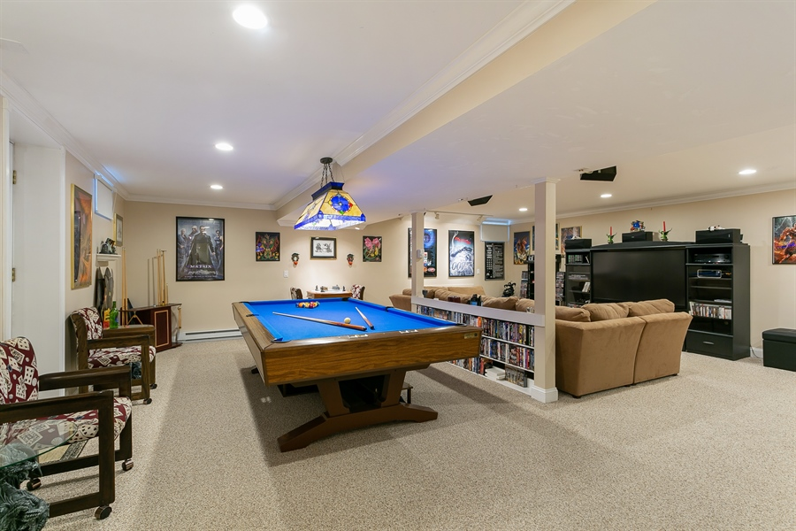 Real Estate Photography - 11 Hertiage Hill Rd, Norwalk, CT, 06851 - Play / Recreational Room