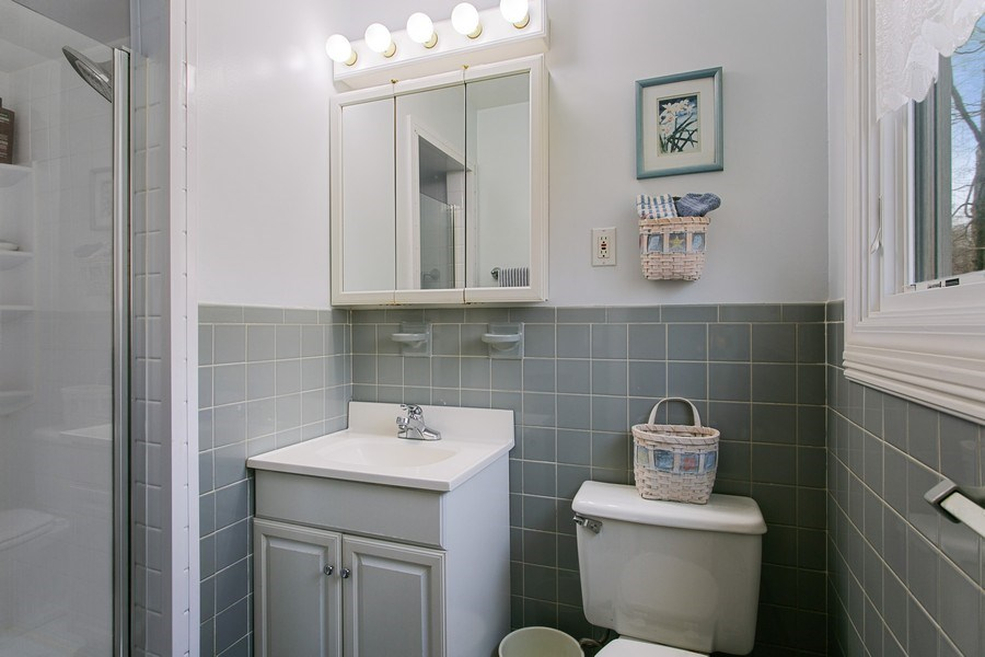 Real Estate Photography - 26 Rocky Brook Rd, Wilton, CT, 06897 - 2nd Master Bathroom