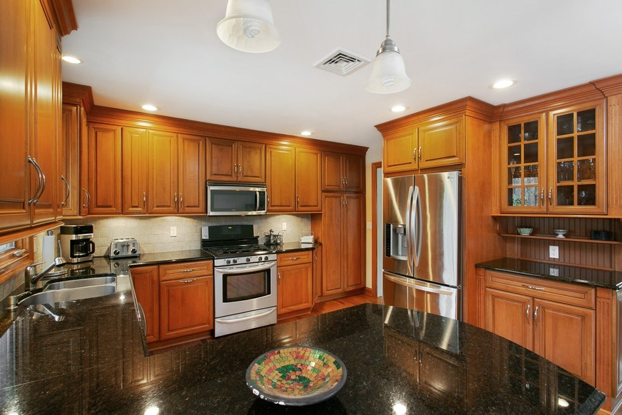 Real Estate Photography - 26 Rocky Brook Rd, Wilton, CT, 06897 - Kitchen