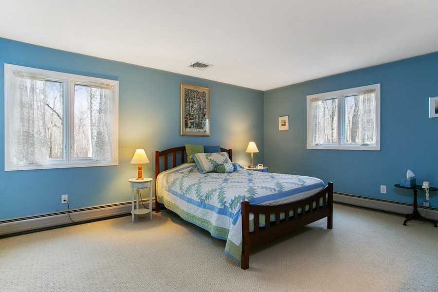 Real Estate Photography - 26 Rocky Brook Rd, Wilton, CT, 06897 - 2nd Master Bedroom