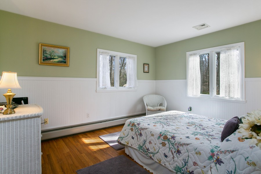 Real Estate Photography - 26 Rocky Brook Rd, Wilton, CT, 06897 - Bedroom