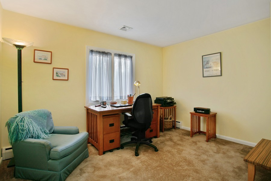Real Estate Photography - 26 Rocky Brook Rd, Wilton, CT, 06897 - Office/Bedroom