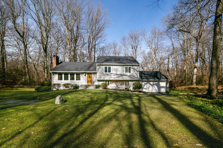 Real Estate Photography - 26 Rocky Brook Rd, Wilton, CT, 06897 - Front View