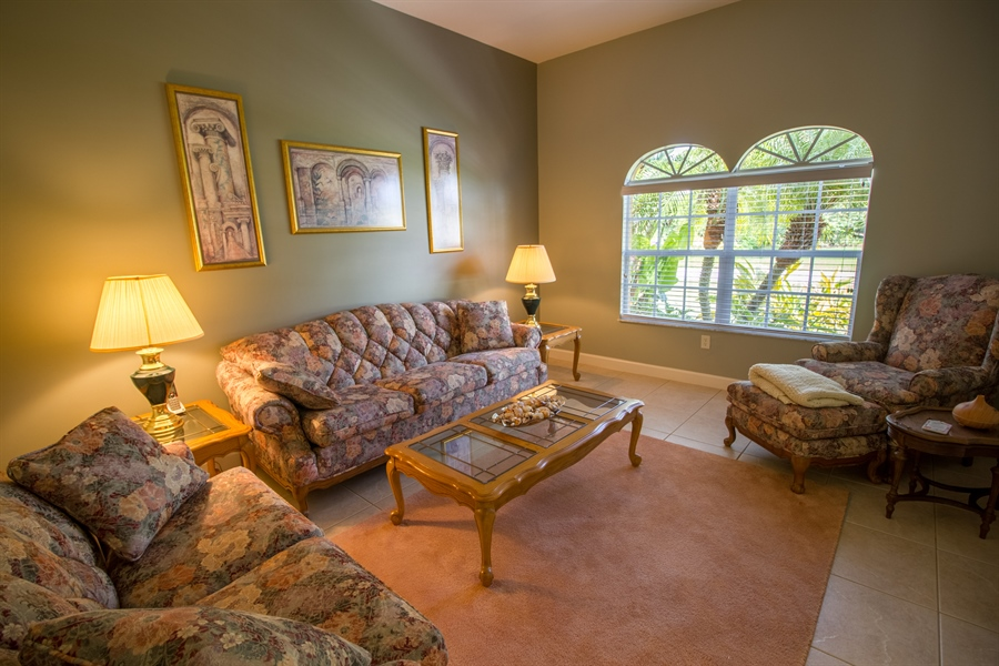 Real Estate Photography - 108 SW Lion Ln, Port Saint Lucie, FL, 34953 - Living Room