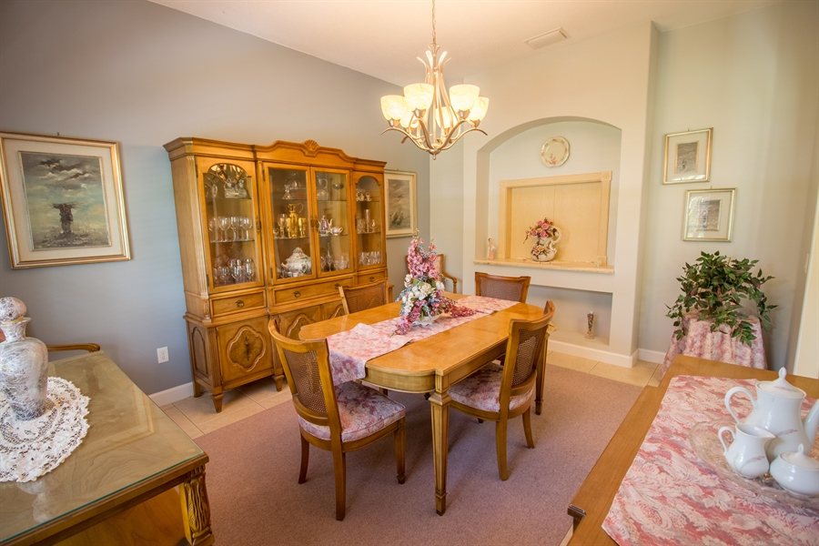 Real Estate Photography - 108 SW Lion Ln, Port Saint Lucie, FL, 34953 - Dining Room