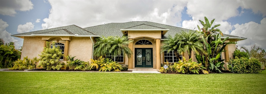 Real Estate Photography - 108 SW Lion Ln, Port Saint Lucie, FL, 34953 - Front