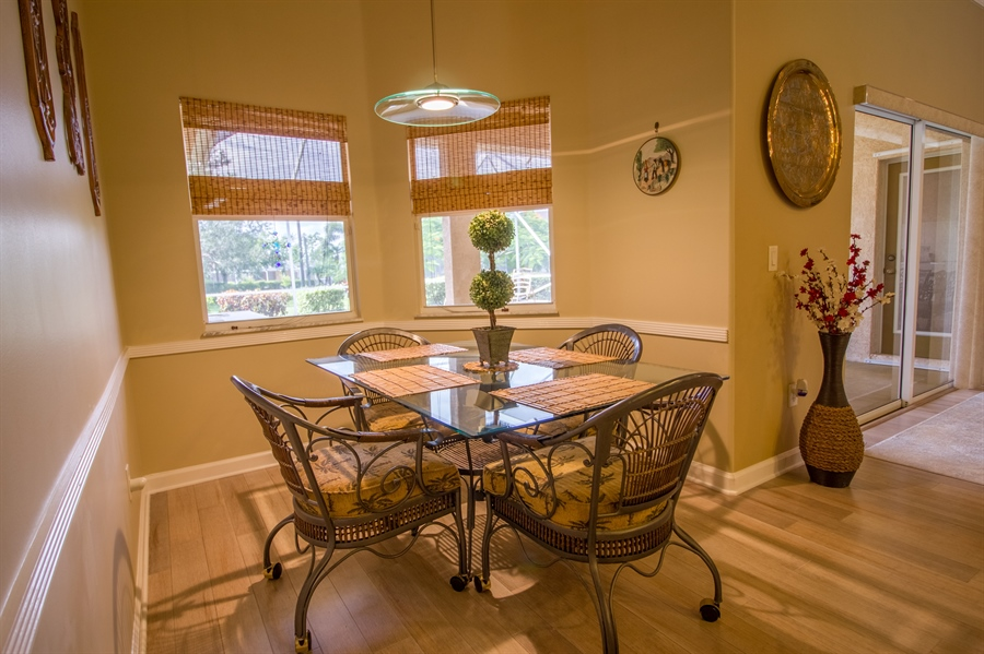 Real Estate Photography - 108 SW Lion Ln, Port Saint Lucie, FL, 34953 - Eat-In-Dining Area