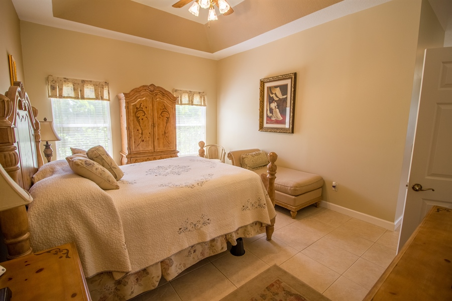 Real Estate Photography - 108 SW Lion Ln, Port Saint Lucie, FL, 34953 - Master Bedroom