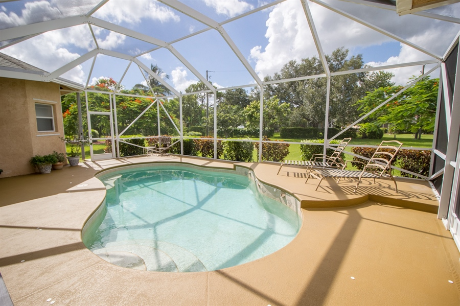 Real Estate Photography - 108 SW Lion Ln, Port Saint Lucie, FL, 34953 - Pool