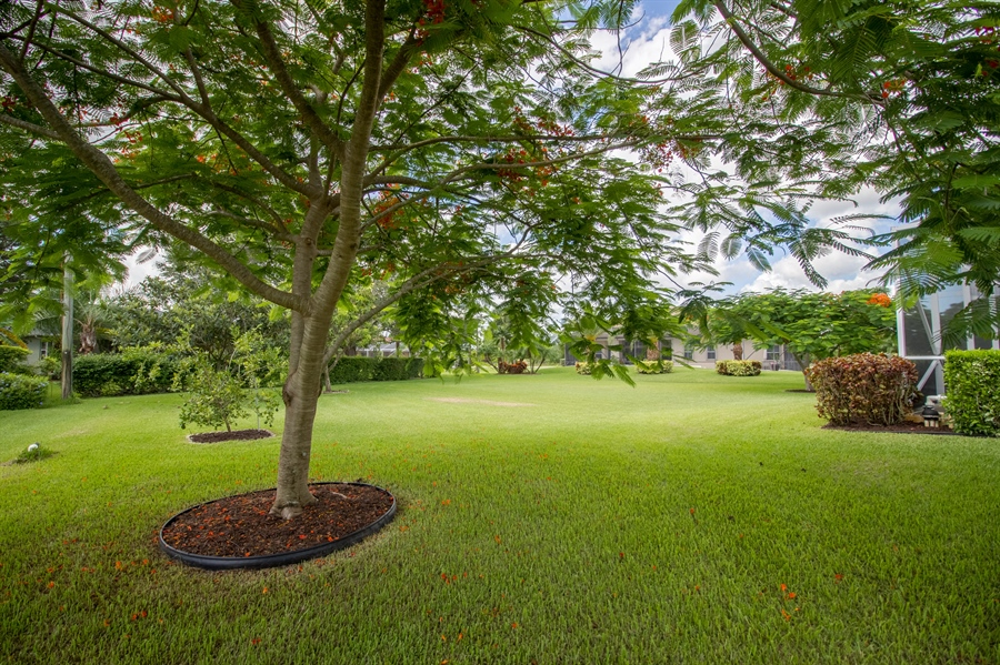 Real Estate Photography - 108 SW Lion Ln, Port Saint Lucie, FL, 34953 - Back Yard