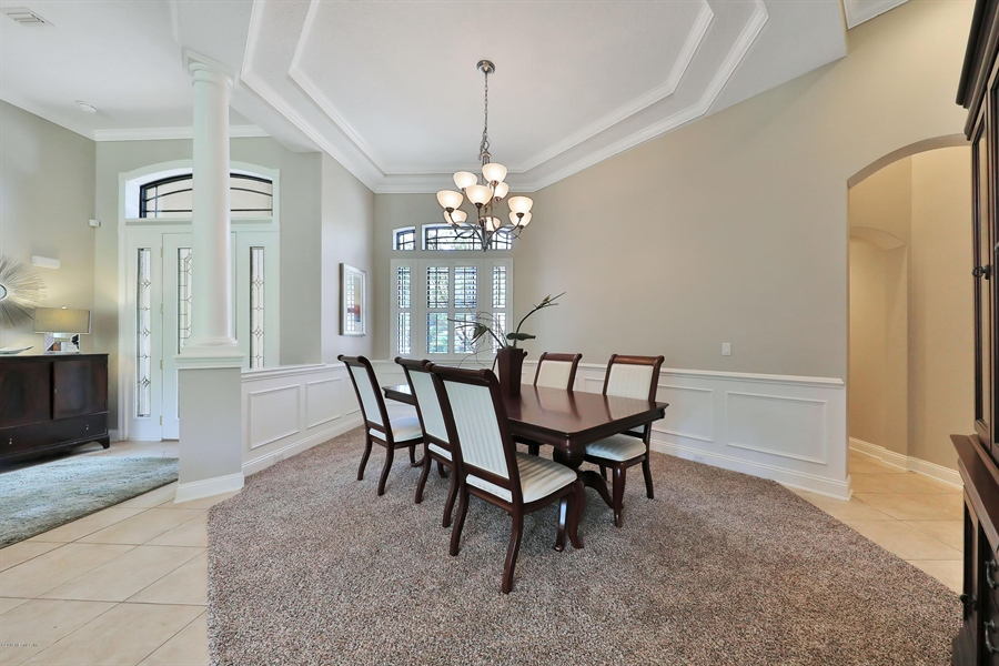 Real Estate Photography - 140 Saint Johns Forest Blvd, Saint Johns, FL, 32259 - DINING ROOM