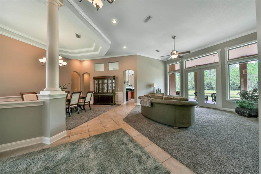 Real Estate Photography - 140 Saint Johns Forest Blvd, Saint Johns, FL, 32259 - OPEN LIVING SPACES PERFECT FOR ENTERTAINING
