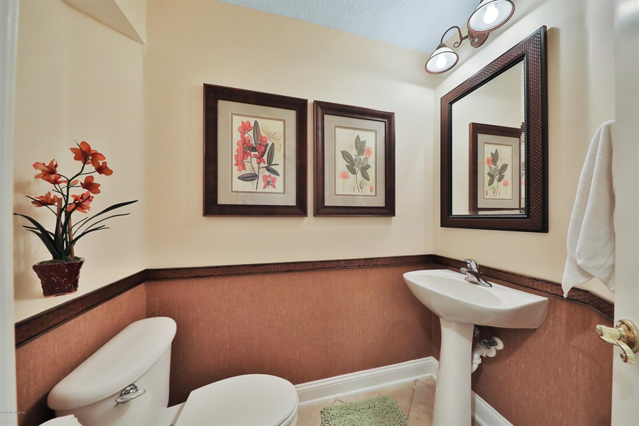 Real Estate Photography - 140 Saint Johns Forest Blvd, Saint Johns, FL, 32259 - POWDER ROOM