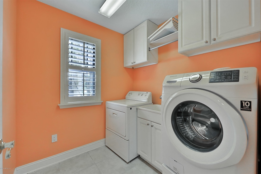 Real Estate Photography - 140 Saint Johns Forest Blvd, Saint Johns, FL, 32259 - LAUNDRY ROOM