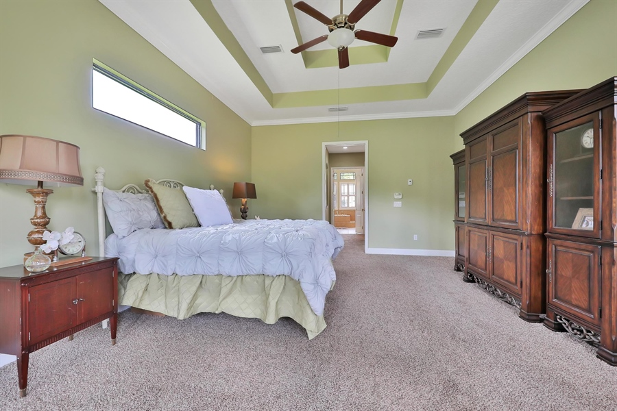 Real Estate Photography - 140 Saint Johns Forest Blvd, Saint Johns, FL, 32259 - OWNERS RETREAT WITH DOUBLE TRAY CEILING