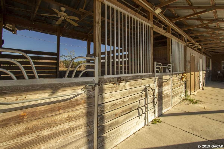 Real Estate Photography - 6530 NE 57th Ct, High Springs, FL, 32643 - Horse Stalls