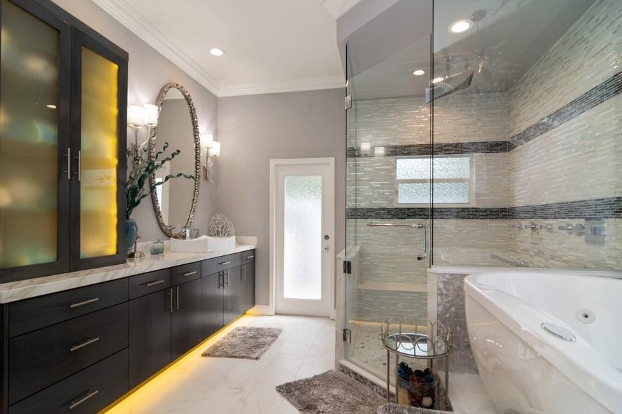Real Estate Photography - 4285 SE Frazier Court, Stuart, FL, 34997 - Master Bathroom